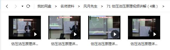 【月风先生】估压沽压原理视频讲解(4集)视频