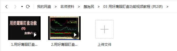 【颜为民】用好鹰眼盯盘功能视频教程(共2讲)