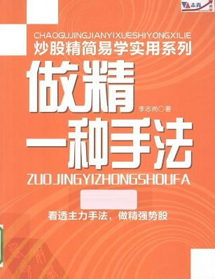 做精一种手法:看透主力手法做精强势股PDF电子书下载 李志尚 著