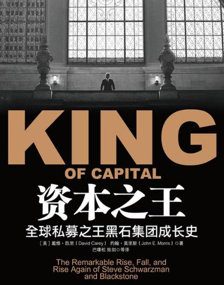 资本之王-全球私募之王黑石集团成长史PDF电子书下载戴维·凯里著