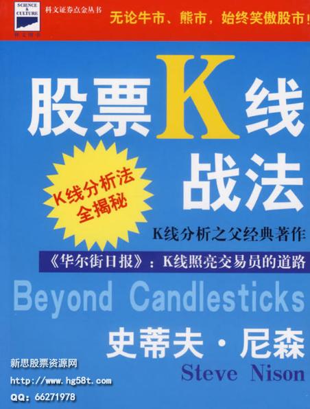 股票K线战法修订版PDF电子书下载史蒂夫·尼森著