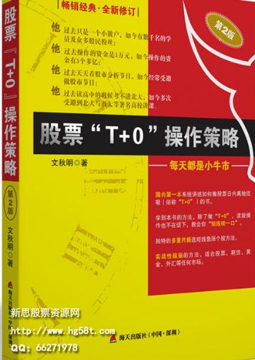 股票T+0操作策略:每天都是小牛市PDF电子书下载文秋明著