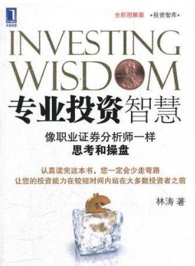 专业投资智慧 像职业证券分析师一样思考和操盘PDF电子书下载林涛著