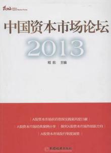 中国资本市场论坛2013 程前著