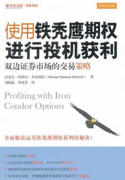 使用铁秃鹰期权进行投机获利 双边证券市场的交易策略PDF电子书下载迈克尔哈纳尼本克利法著