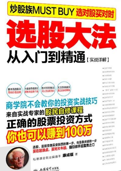 选股大法从入门到精通:实战详解 PDF电子书下载康成福著