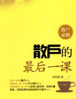 散户的最后一课盘PDF电子书下载林皓墨著