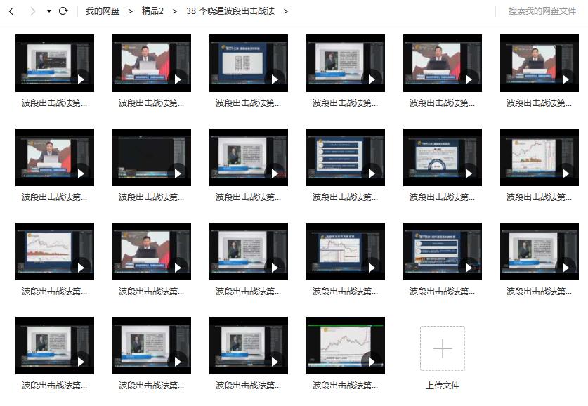 【李晓通】波段出击战法视频教程(22节)理财频道炒股视频课程