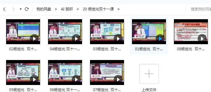 【杨世光】双11视频培训教程