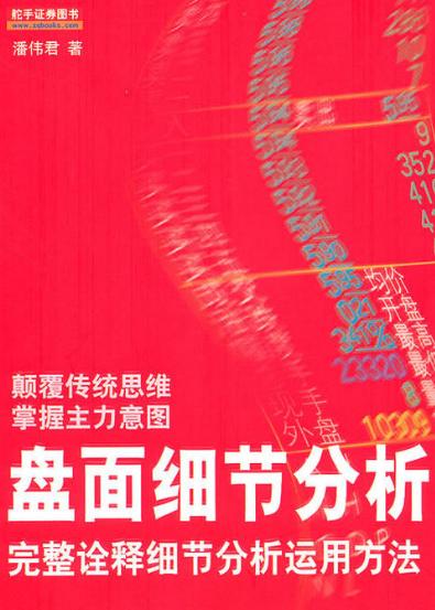 盘面细节分析PDF电子书下载作者潘伟君