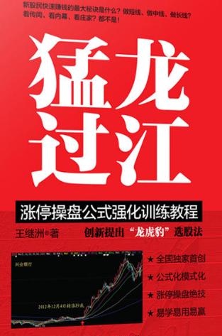 猛龙过江 涨停操盘公式强化训练教程PDF电子书下载 作者 王继洲