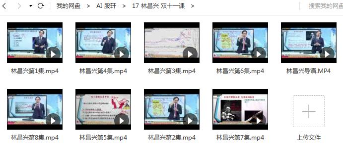 林昌兴 双11线上课培训视频课程《价量领航趋势战法》