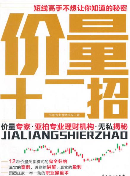 价量十二招 PDF电子书下载 亚伯专业理财