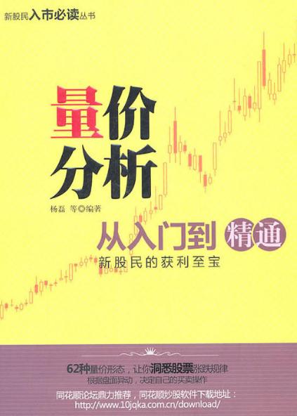 量价分析从入门到精通PDF电子书下载 作者 杨磊