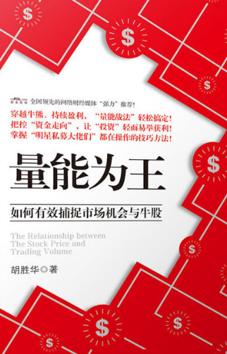 量能为王 量价思维与中国式价值投资PDF电子书下载 作者 胡胜华