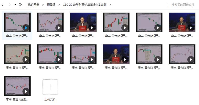 【李丰】黄金k线13节DVD股票高清视频课