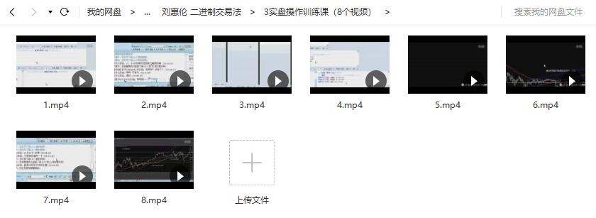【刘惠伦】 二进制交易法 视频培训教学+课件