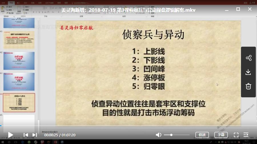【姜灵海】 量学大讲堂《量学归零启航》第12期视频培训课程