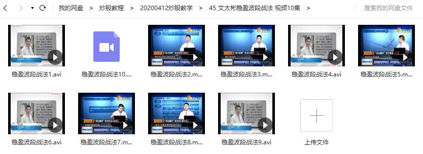 文太彬稳盈波段战法 视频视频培训课程(共10讲)