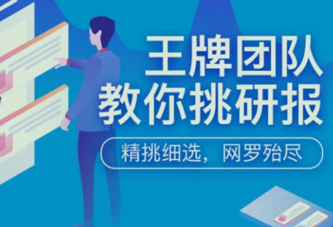 2020年王牌团队教你挑研报(完整版)+PDF(音频资料下载学习)
