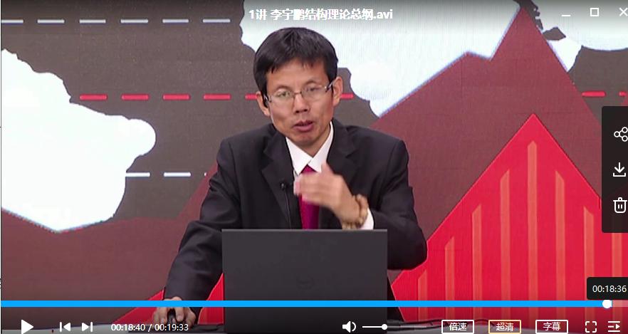 【李宇鹏】结构理论操盘体系视频培训课程(共40讲)