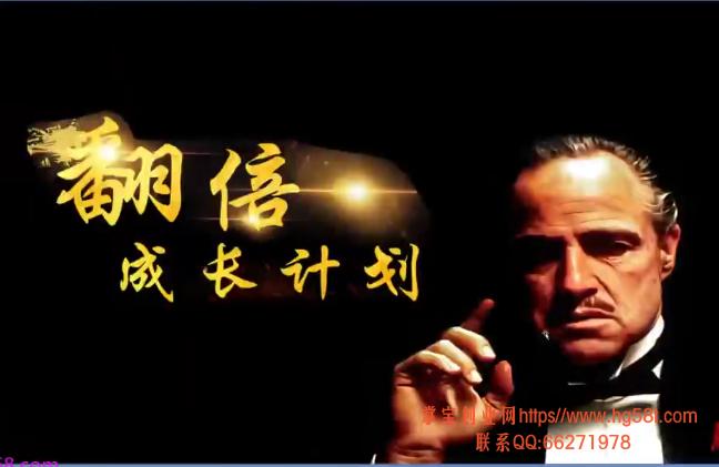 【游资教父】翻倍成长计划实战圈 2020年视频培训课程