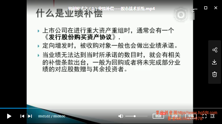 【不死刺猬】盈利模式之 股市战术系统 13讲视频培训课