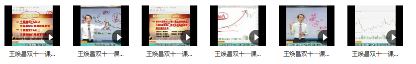 2020年爱股轩王焕昌双十一缺口的奥秘与玄机掌握买卖点的绝技视频培训课