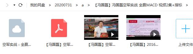 冯国磊空军实战 全赢MACD 视频2集+指标公式