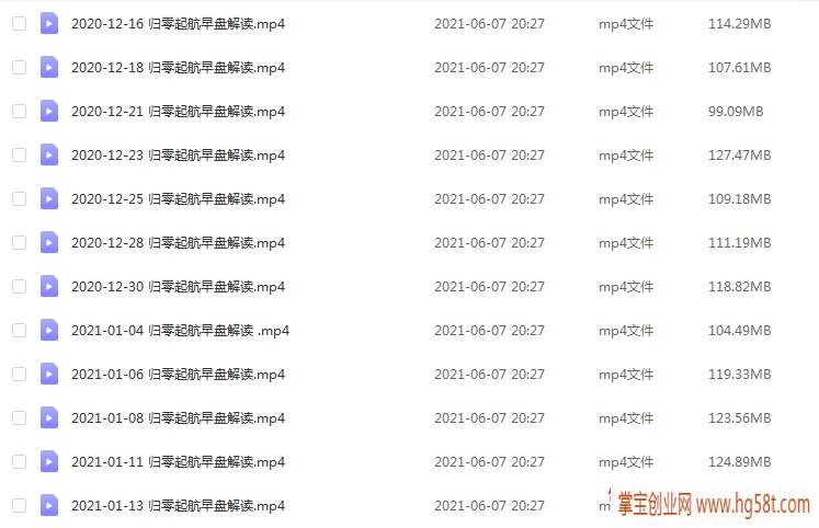 【姜灵海】44期必修课-归零启航主控实战操盘学2020年第12期