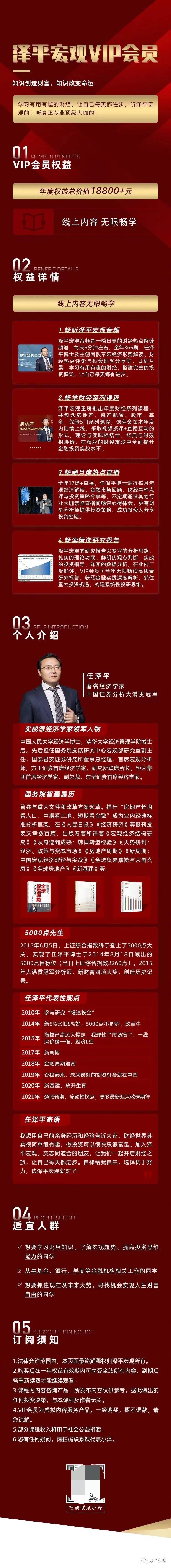 任泽平《泽平宏观VP会员》视频+音频
